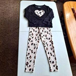 Epic Threads Leopard Pajama set